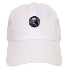 St. Anne Stained Glass Window Baseball Cap