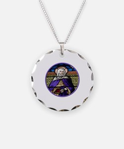 St. Anne Stained Glass Window Necklace