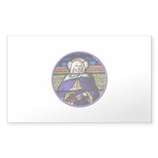 St. Anne Stained Glass Window Decal
