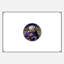 St. Anne Stained Glass Window Banner