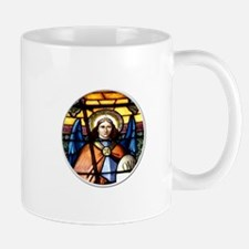 St. Michael The Archangel Stained Glass Window Mug