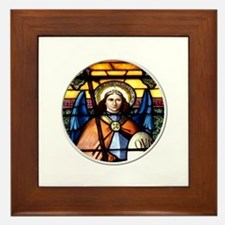 St. Michael The Archangel Stained Glass Window Fra
