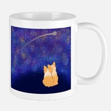 Corgi Night Love Mug