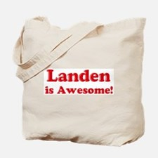 Landen is Awesome Tote Bag