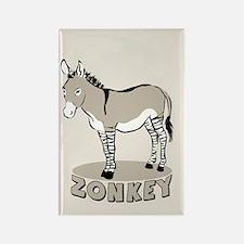 Zonkey Rectangle Magnet