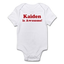 Kaiden is Awesome Infant Bodysuit