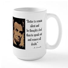 Remain Silent Mug