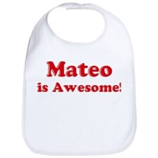 Mateo is Awesome Bib