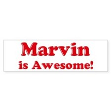 Marvin is Awesome Bumper Bumper Sticker
