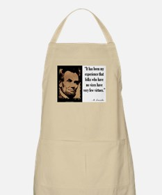 Folks Who Have No Vices Apron