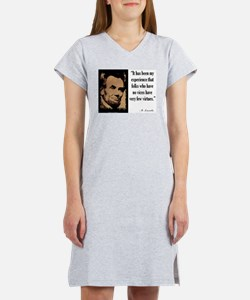 Folks Who Have No Vices Women's Nightshirt