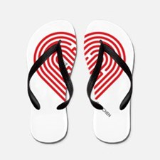 I Love Gretchen Flip Flops