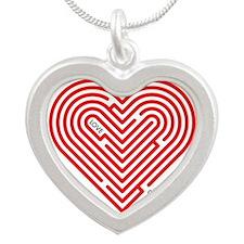 I Love Gretchen Silver Heart Necklace