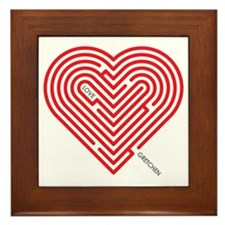 I Love Gretchen Framed Tile
