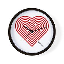I Love Gretchen Wall Clock