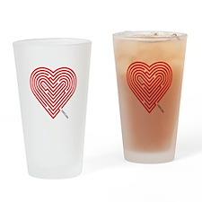 I Love Gretchen Drinking Glass
