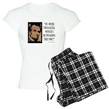 Two Faced Pajamas