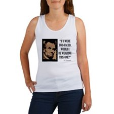 Two Faced Women's Tank Top