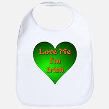 Love Me I'm Irish Bib