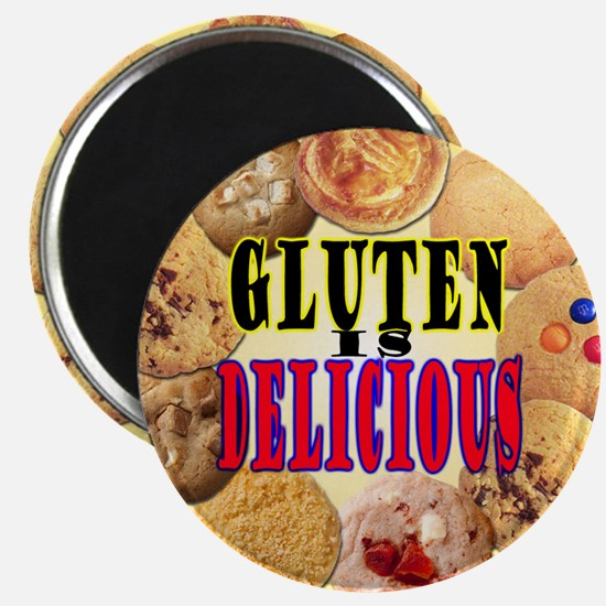 Gluten is Delicious Magnet