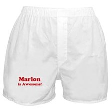 Marlon is Awesome Boxer Shorts