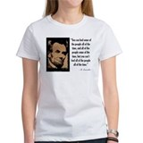 Abraham lincoln quote Women's T-Shirt