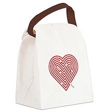 I Love Hilary Canvas Lunch Bag