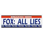 Fox News LIES Bumpersticker
