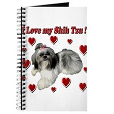 I Love my Shih Tzu- Ily Journal