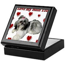 I Love my Shih Tzu- Ily Keepsake Box