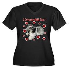 I Love my Shih Tzu- Ily Plus Size T-Shirt