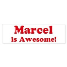 Marcel is Awesome Bumper Bumper Sticker