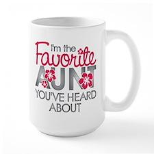 Favorite Aunt Mug