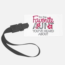 Favorite Aunt Luggage Tag