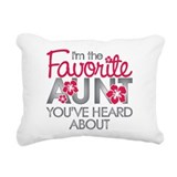 Aunt Throw Pillows