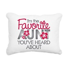 Favorite Aunt Rectangular Canvas Pillow