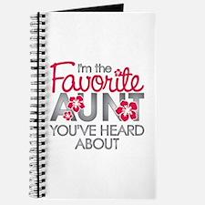 Favorite Aunt Journal