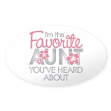 Favorite Aunt Decal