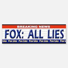 Fox News Lies! - Bumpersticker