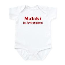 Malaki is Awesome Infant Bodysuit