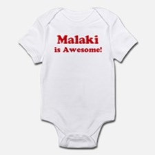 Malaki is Awesome Infant Bodysuit