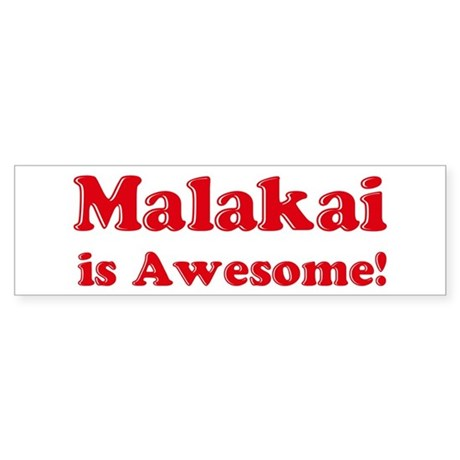 Malakai is Awesome Bumper Sticker