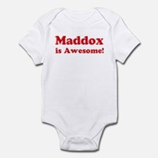 Maddox is Awesome Infant Bodysuit