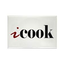 "I ""Cook"" Rectangle Magnet"