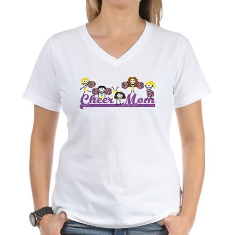 Cheer Mom<br> Ash Grey T-Shirt