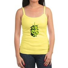 Graphical Hop Cone Tank Top