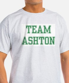 TEAM ASHTON  Ash Grey T-Shirt