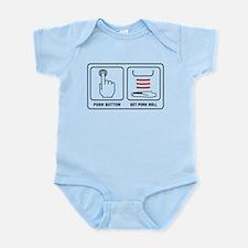 Get Pork Roll Infant Bodysuit