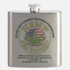 Hemp for Victory Flask