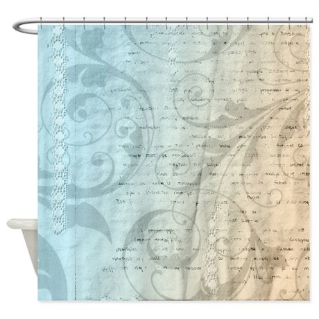Blue Cream Inspired Shower Curtain By Be Inspired By Life